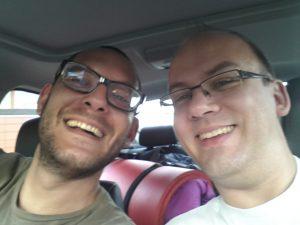 Olivier und ich