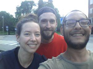 Johan, Olga und ich