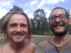 André und ich