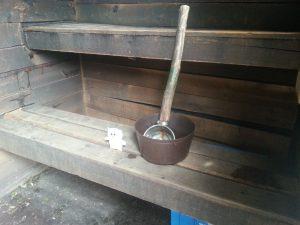Owly in der kleinen Sauna 1